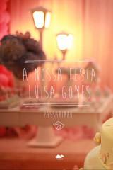 1 ano de Luiza gomes